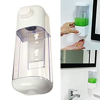 Wall Mounted Soap Dispenser Durable Bathroom And Shower Refillable
