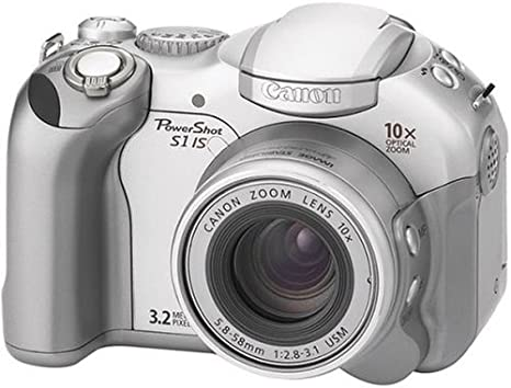 Canon PowerShot S1 iS 3.2 MP Digital Camera 10 x Optical Zoom ...