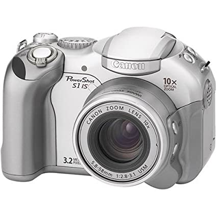 amazon com canon powershot s1 is 3 2 mp digital camera with 10x rh amazon com Canon BJC 1000 canon powershot s1 is manual download
