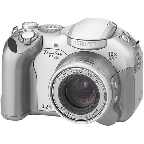 (Canon PowerShot S1 IS 3.2 MP Digital Camera with 10x Image Stabilized Optical Zoom )