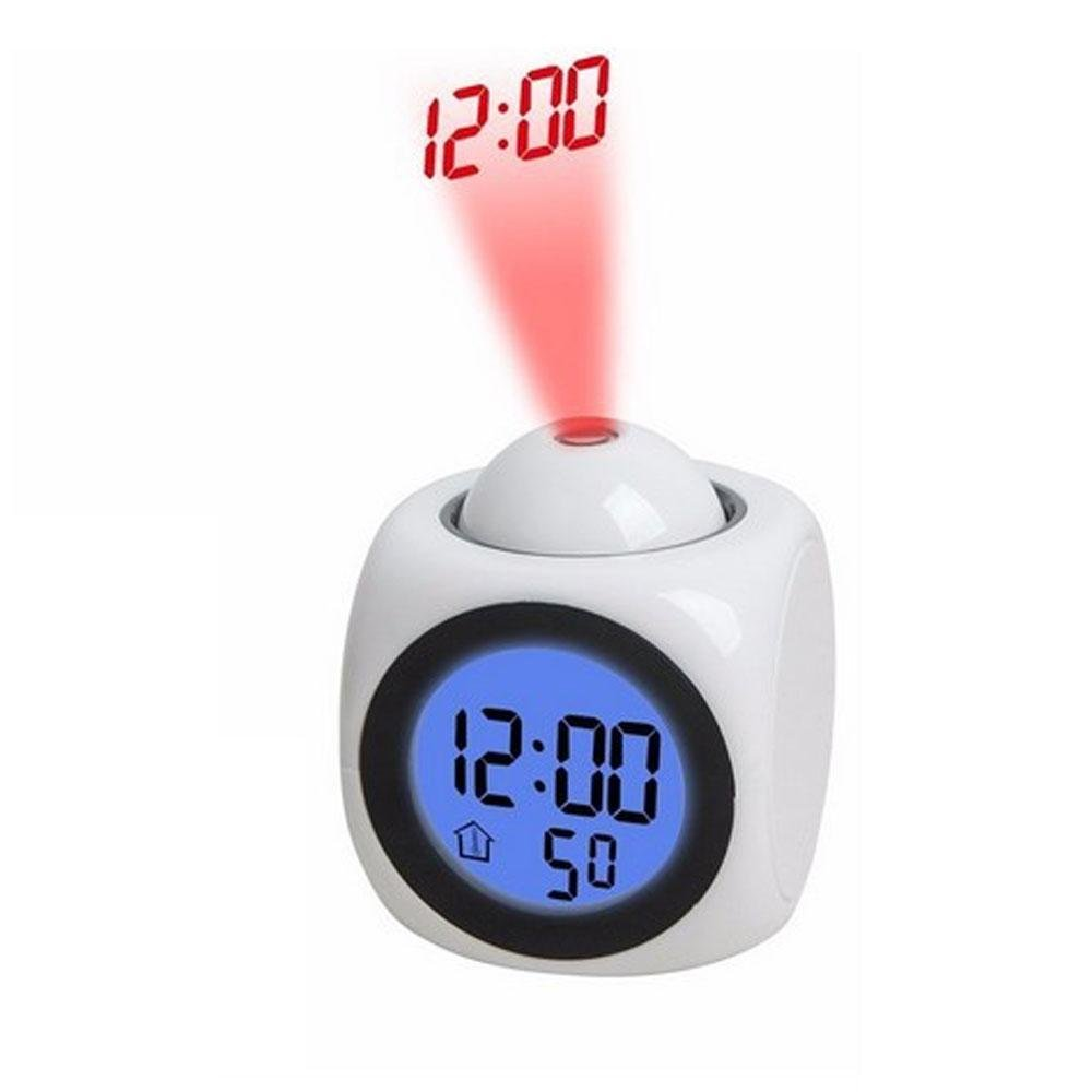Amazoncom Projection Alarm Clock Digital LCD Voice