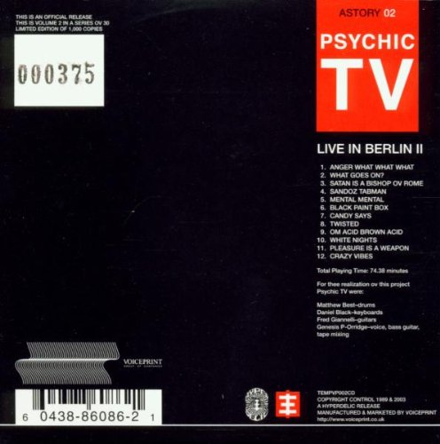 Vol. 2-Live in Berlin