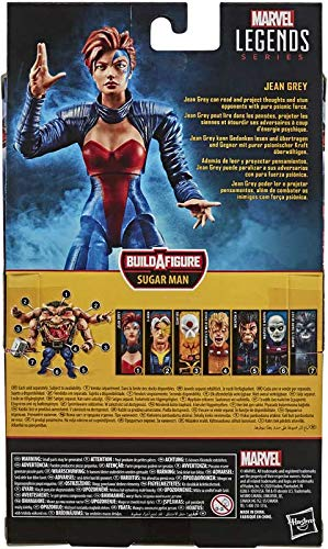 5110YktEnXL COLLECTOR Marvel X Men Legends- The Age of Apocalypse- Jean Grey- Collect The Set to Build Sugar Man! Action Figure with…