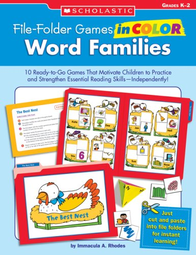Word Families, Grades K-2 (File-Folder Games in Color)]()