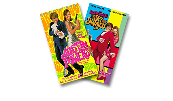 Austin Powers: International Man of Mystery USA VHS: Amazon ...