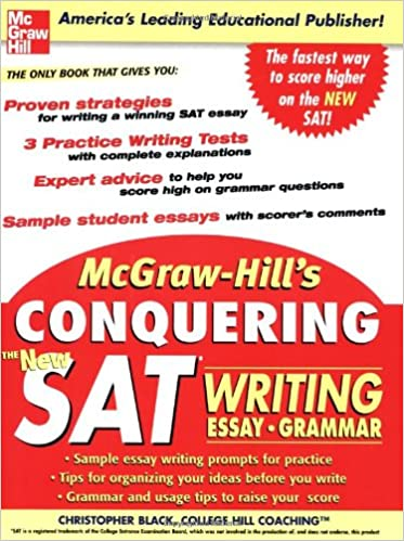 McGraw Hills Conquering The New SAT Writing 1st Edition