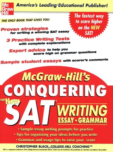 book for sat essay Maybe the only differences with today's sat are the essay question (barf)  your  test center code, your form code, your test-book serial number,.