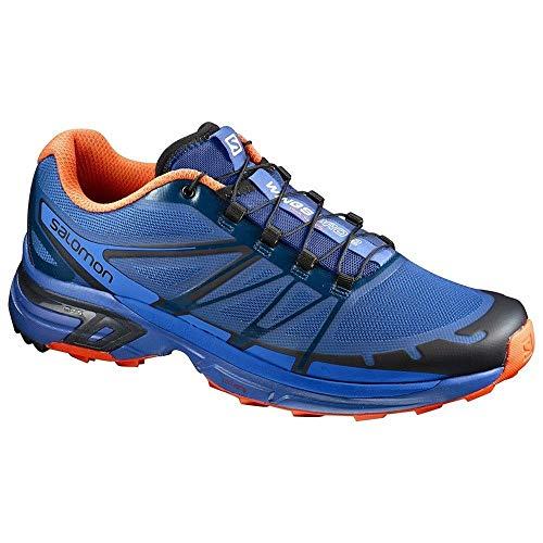 2 Salomon nautical Da Wings black Pro flame Uomo Trail Blue Running Scarpe 55 Blu qzqEZwB