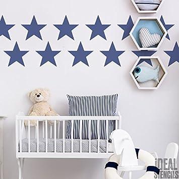 Vorhangstoffe Kinderzimmer | Nautisch Kinderzimmer Stern Kinderzimmer Heim Wand Dekoration
