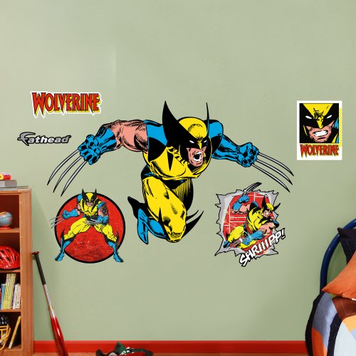 FATHEAD Classic Wolverine Graphic Wall Décor