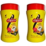 CavinKare Meera Herbal Hairwash Shikakai Tulsi Reetha Powder (120g) - 2 Jars