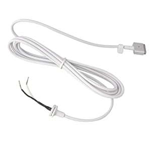 "Maxon's Trade ""T-Tip"" 45W 60W 85W AC Power Adapter DC Repair Cable Cord "" T "" Connector for Apple MAC MacBook Pro Laptop (for Magsafe2 only)"