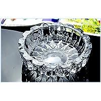 Bellveen Glass Smoking Ashtray Home Office Tabletop Decoration Design-PE01