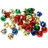 Creation Station 15 mm Jingle Bells, Assorted Colours, Pack of 80