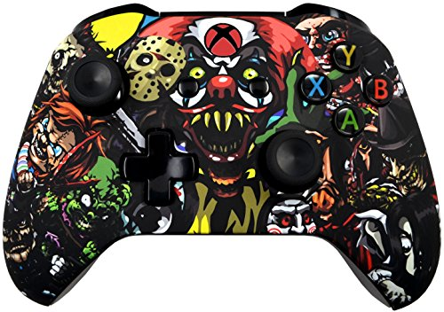 Xbox One S Wireless Controller   Soft Touch Design   Added Grip For Long Gaming Sessions   Multiple Colors Available  Scary Party
