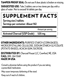 Activated Charcoal Tablets Chewable - 365 USP