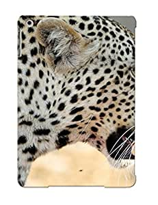 Awesome Design Leopard Roaring Hard Case Cover For Ipad Air(gift For Lovers)
