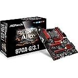 ASRock Motherboard ATX DDR3 2400 AM3 970A-G/3.1