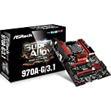 ASRock Motherboard ATX DDR3 2400 AM3 970A-G/3.1