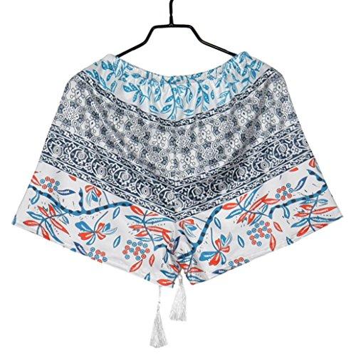 Shorts Occasionnels DContract Pantalon Femmes Multicolore Imprim Haute Shorts Courts Pantalons T Sexy Taille Chaud WINWINTOM 2018 UxwzfqUR