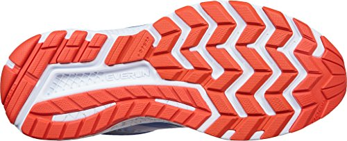Saucony Men's Guide 10 Running Shoes, Black, US Blue/Orange