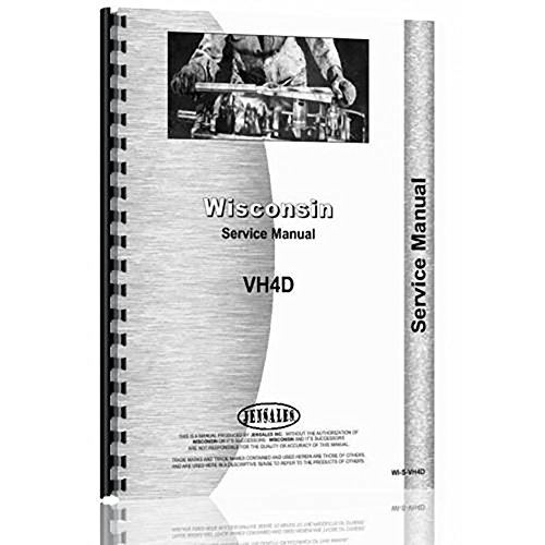 New Wisconsin VH4D Service Manual Industrial
