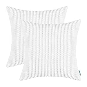 Amazon Com Calitime Pack Of 2 Comfy Throw Pillow Covers