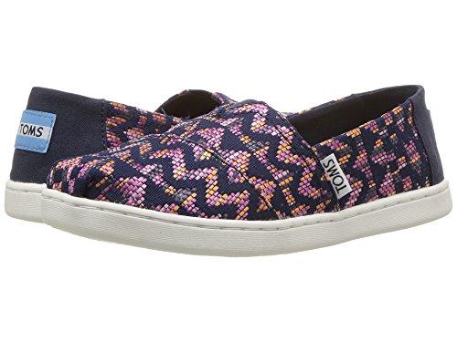 TOMS Youth Alpargata Novelty Textile Espadrille, Size: 4.5 M US Big Kid, Color Fuchsia Colorful - Image 6