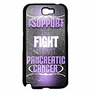 I Support The Fight Against Pancreatic Cancer TPU RUBBER SILICONE Phone Case Back Cover Samsung Galaxy Note II 2 N7100