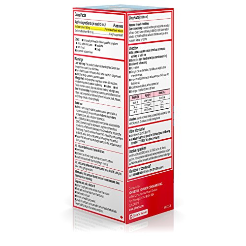 Children's Tylenol Cold, Cough, And Sore Throat Medicine, Bubblegum, 4 Fl. Oz