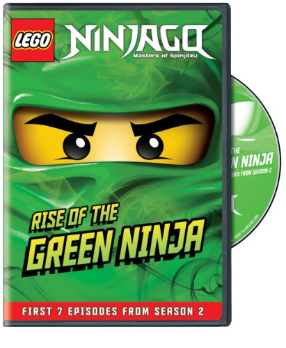 Lego Ninjago: Masters of Spinjitzu- Rise of the Green Ninja (Sheridan Green)