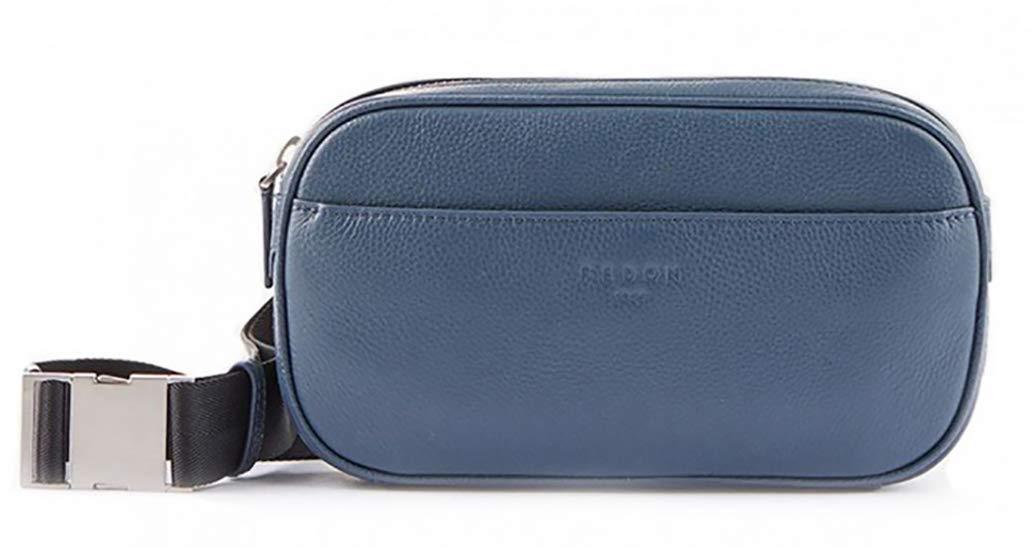 MB1910030 Blue Fedon 1919 Ohanian Leather waist pack