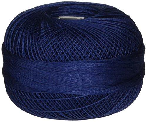 Handy Hands Lizbeth Premium Cotton Thread, Size 40, Navy Blue ()