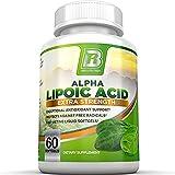 BRI Nutrition Alpha Lipoic Acid Softgels - 60 Count 300mg Fast Absorption Liquid Softgels