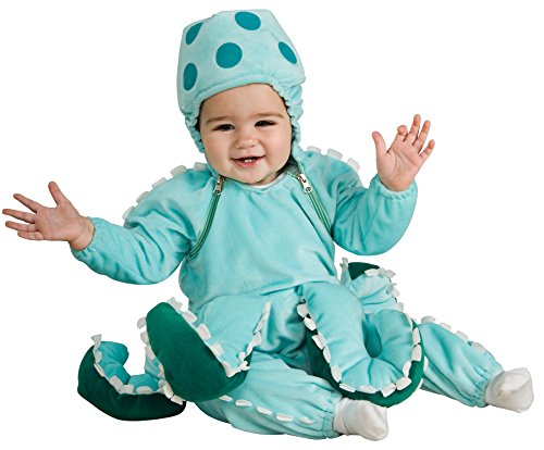 UHC Baby's Octopus Ocean Outfit Infant Newborn Fancy Dress Halloween Costume, 6-12M