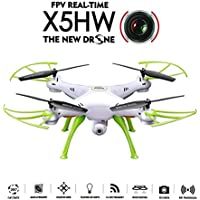 Flymemo X5HW Wifi FPV Drone with HD Camera Live Video Altitude Hold Function RC Quadcopter