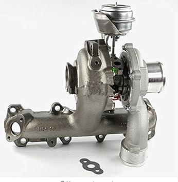 GOWE Turbocompresor para Turbo 55195787 55193105 55205179 para Opel/Vauxhall Zafira A 1,9 cdti-100/120hp-88/74KW GT1749 V turbocompresor: Amazon.es: Coche y ...