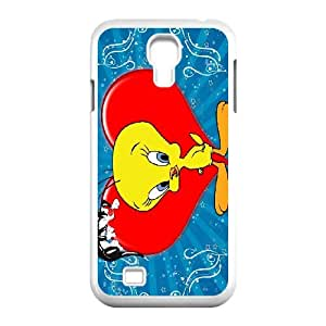 High quality Cute tweety bird,smart duck protective cover For SamSung Galaxy S4 Case TB-BIRD-S8052201