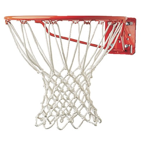 Cheap Champion Sports Non-Whip Basketball Nets, White - Multiple Sizes