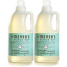 Mrs. Meyer's Clean Day Laundry Detergent, Basil, 64 fl oz, 2 ct