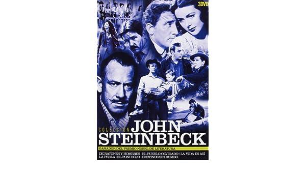 Amazon.com: Colección John Steinbeck (Spain - Importation): Burgess Meredith, Lon Chaney Jr.: Movies & TV