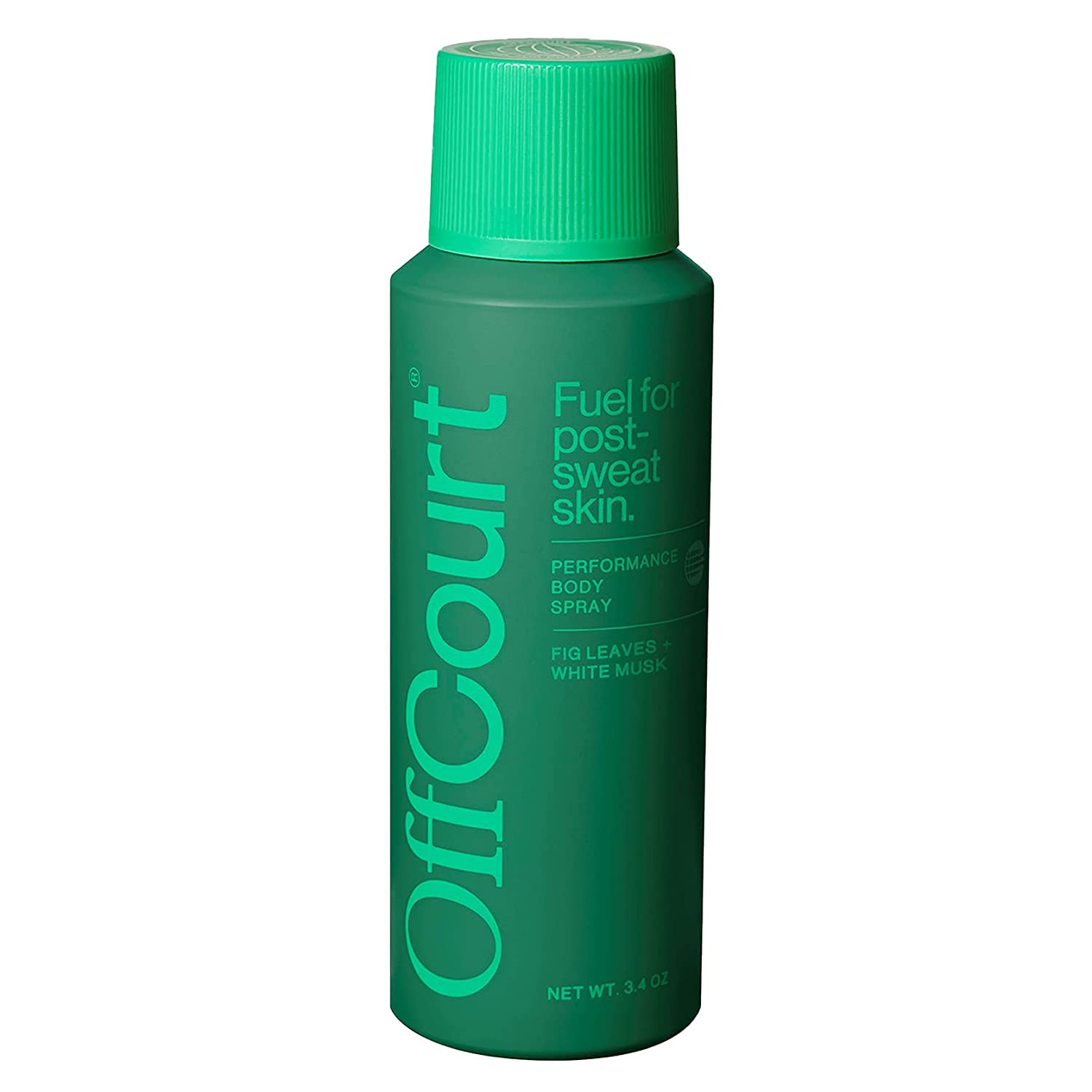OffCourt Body Spray for Men - Aluminum Free - Powerful Prebiotics to Fight Body Odor - Elevated Cologne to Last All Day – Men's Deodorant Spray with Fig Leaves Scent - 3.4 oz