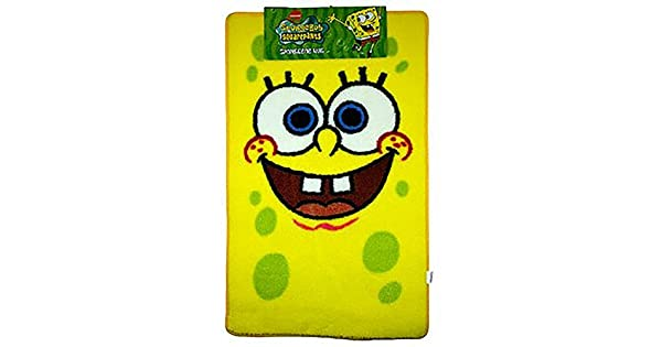 Amazon.com: Oficial Spongebob Squarepants Childrens Alfombra ...