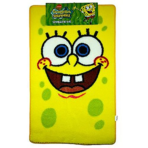 (SpongeBob SquarePants Official Large Childrens Floor Rug (26 x 35 inches) (As Shown))
