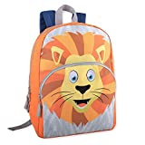 Cheap AD Sutton Kids Critter Animal School Backpack for Boys and Girls (One Size, Lion)