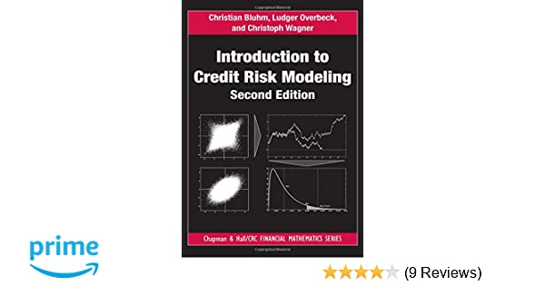 Amazon com: Introduction to Credit Risk Modeling (Chapman