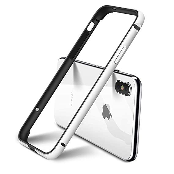 the best attitude 7df95 36479 Aluminum iPhone Xs Max Bumper Case, IFCASE Slim Aluminium Metal Bumper (No  Signal Reduce) TPU Inner Frame Shock Absorbing Case for iPhone Xs Max ...