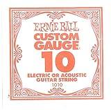 Image of Ernie Ball Plain Steel, Single Strings, .010