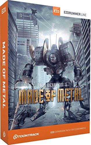 Toontrack Made of Metal EZX (boxed)