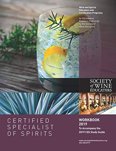 Certified Specialist of Spirits Workbook 2019 by Jane Nickles